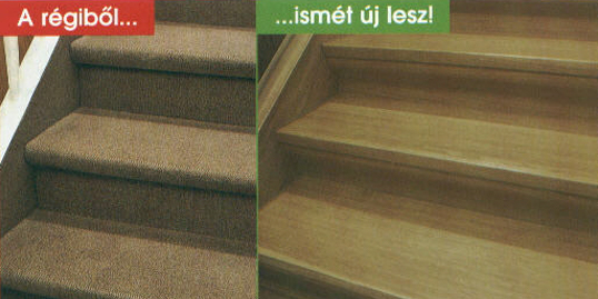 Lépcső felújítás